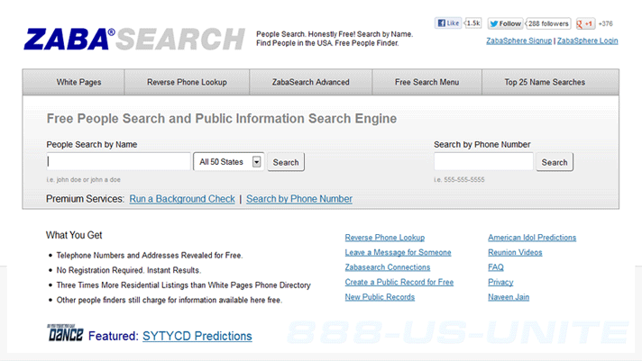 zabasearch address